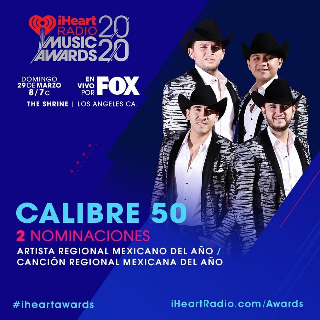 calibre50-nominaciones-iheartmusicradio2020