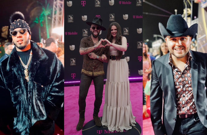 Premio Lo Nuestro 2020: los mejores looks de la alfombra magenta