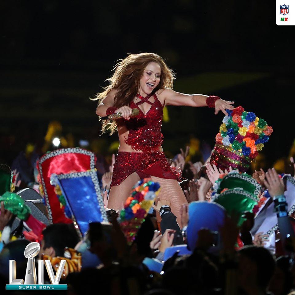Shakira lleva el Carnaval de Barranquilla, el mapalé y la champeta al Super Bowl 2020.