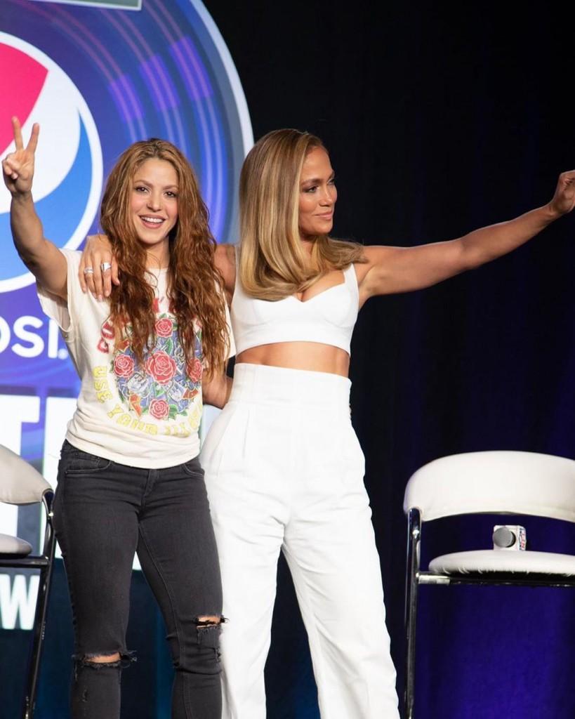 Shakira y JLo, son las invitadas al Super Bowl Halftime Show este 2020.
