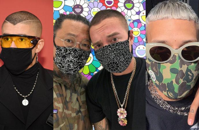 Mascarillas: la moda de los artistas latinos contra el coronavirus