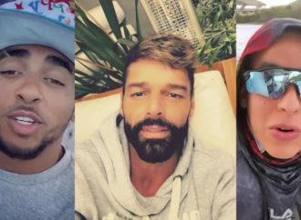Así viven estos 7 artistas latinos su cuarentena