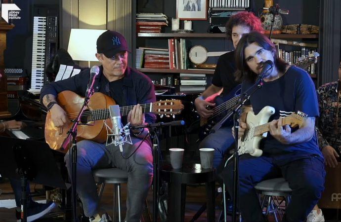 #LaGiraEnCasa: Alejandro Sanz y Juanes dan concierto vía YouTube