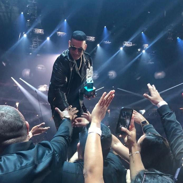 Daddy Yankee en los Premios Tu Música Urbano 2020