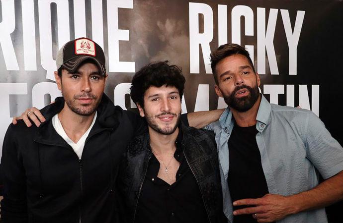 Enrique Iglesias y Ricky Martin anuncian gira 2020 junto a Sebastián Yatra