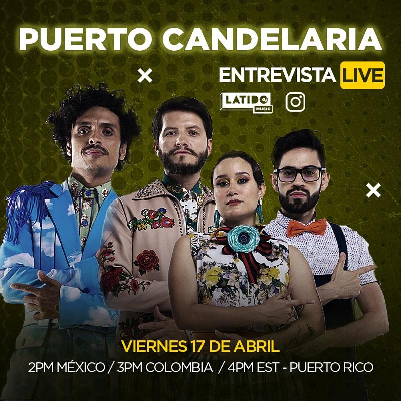 Puerto Candelaria en los Instagram Live de Latido Music