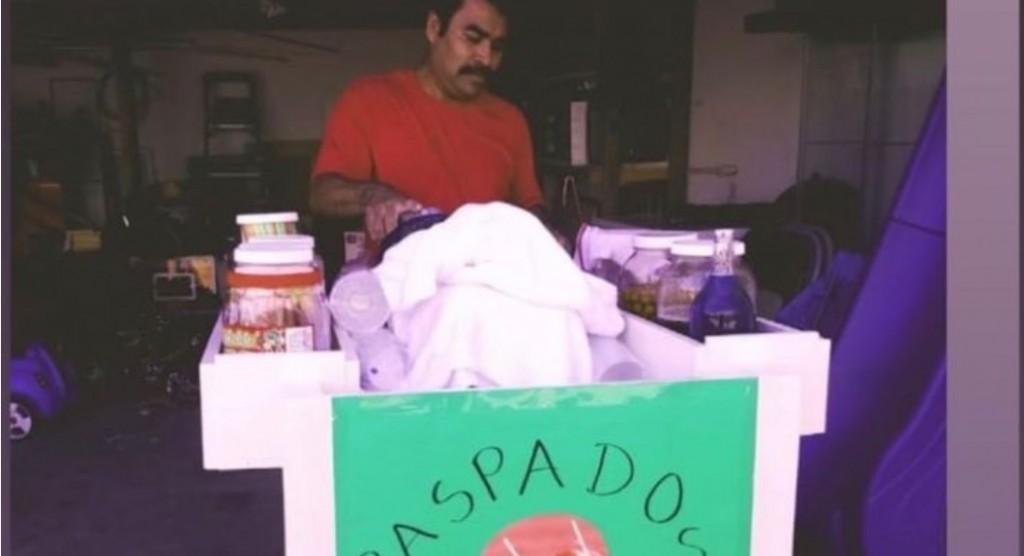 Jacob, vendedor de raspados que fue atacado en Los Ángeles