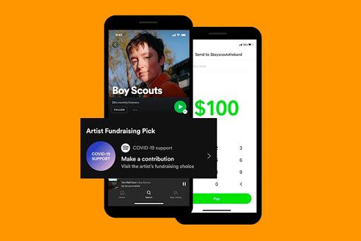 Opciones para ganar dinero en los lives de música