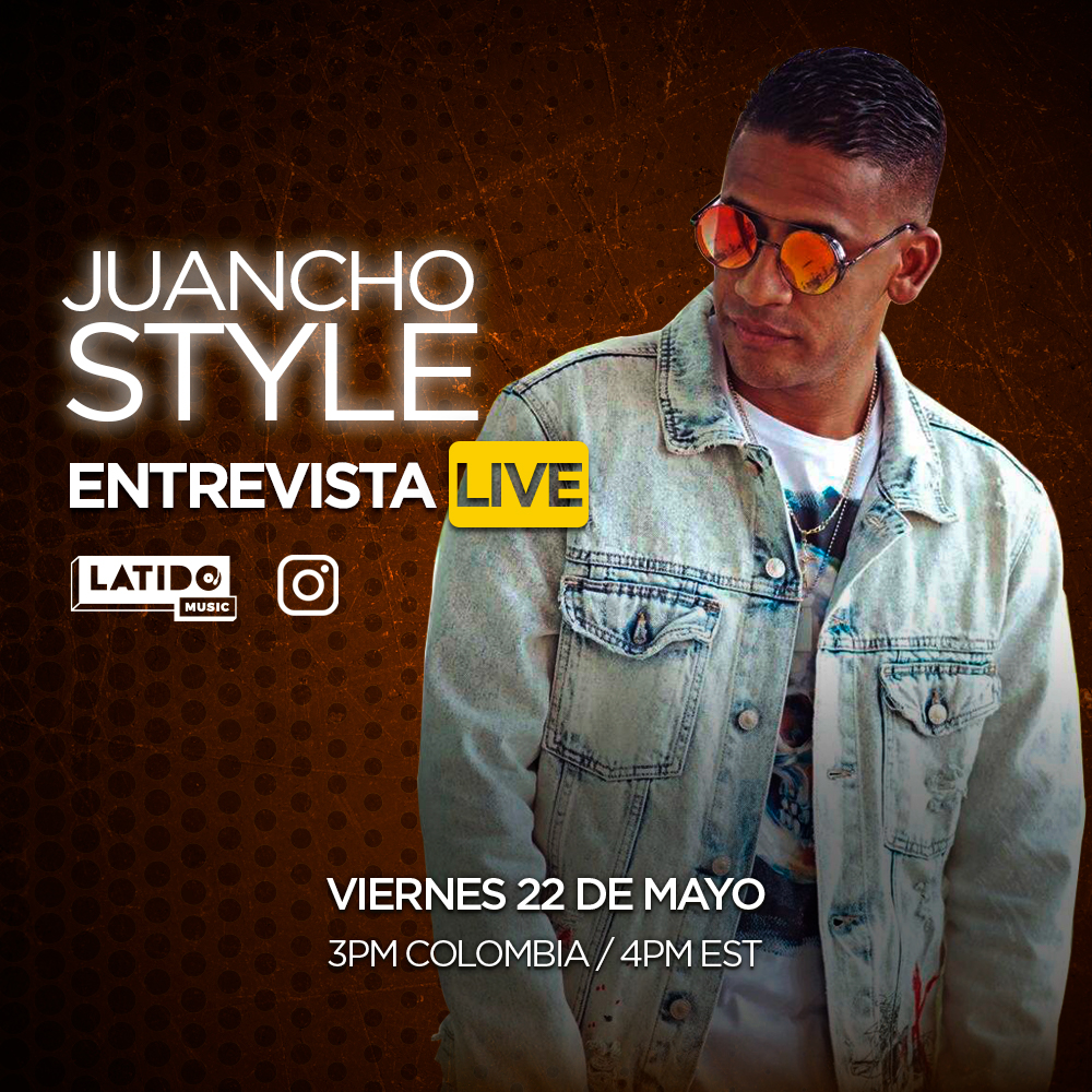 Juancho Style en el Instagram Live de Latido Music