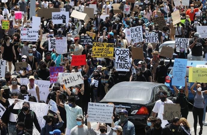 Artistas y músicos se manifiestan y se unen a decir NO al RACISMO