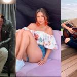 Romeo Santos, Greeicy y Sebastián Yatra en Latido News